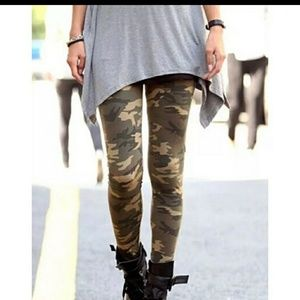 😘 camouflage buttery soft leggings